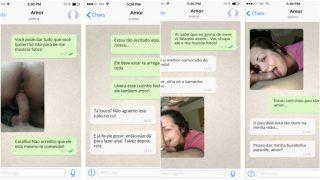 Olha só a conversa de Whatsapp intima