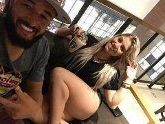 Tayrine Esposa do Goleiro Muralha do Flamengo Caiu na Net