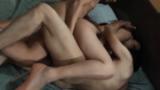 Priscila dando o cu e a buceta para os amantes