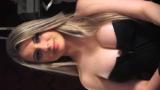 Jéssica Ledux loira rabuda se exibindo peladinha